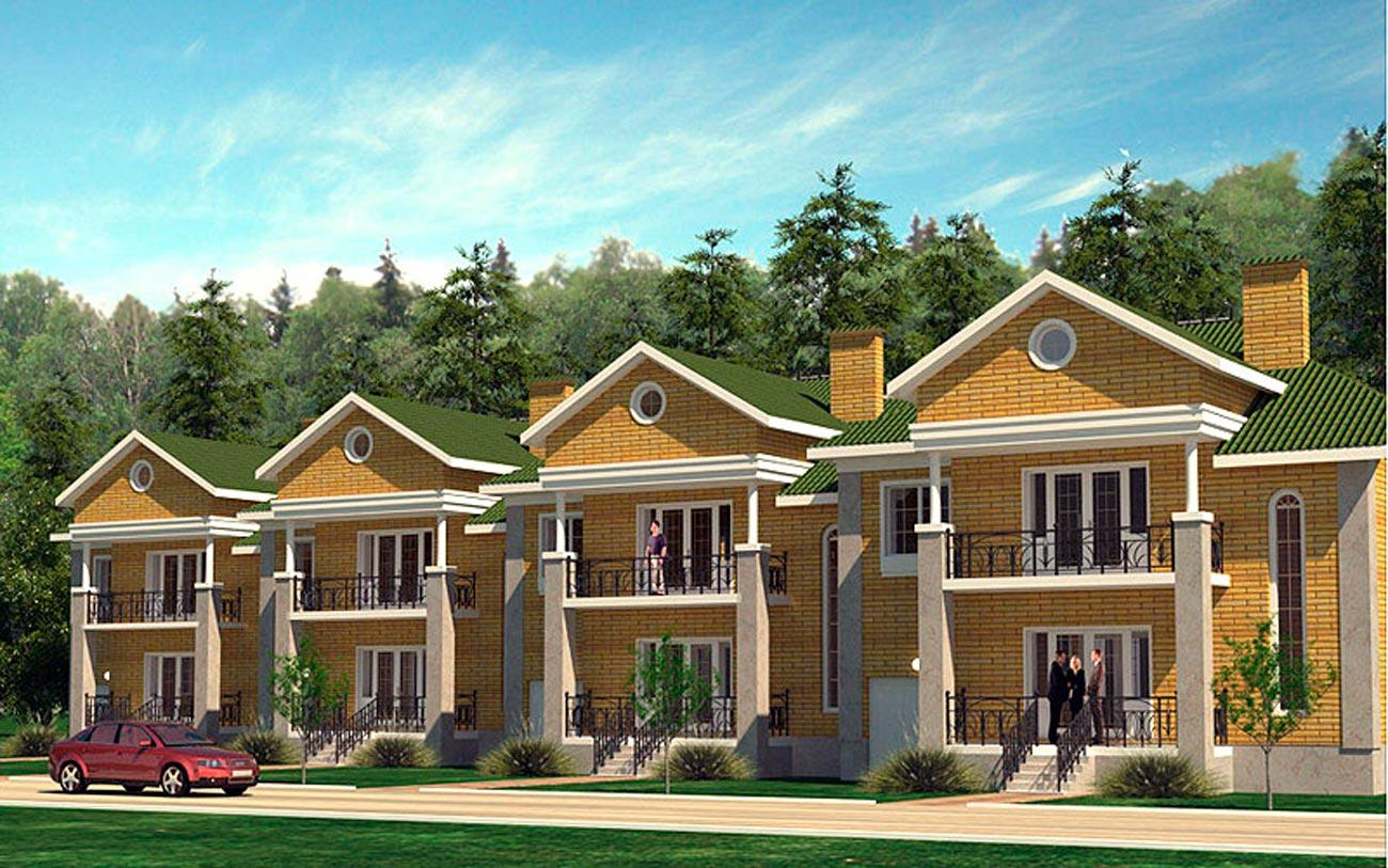 Таунхаусы экономкласса в Подмосковье цены на квартиры