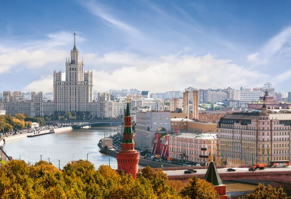 Москва заняла последнее место потемпам увеличения цен нажилье