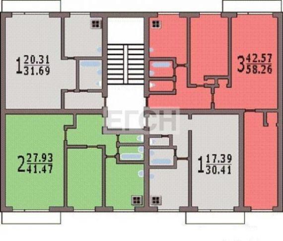 Продается двушка находится зеленый просп. , 67к1, м.. метраж.