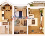 Дизайн 2-х комнатной квартиры п44т с размерами