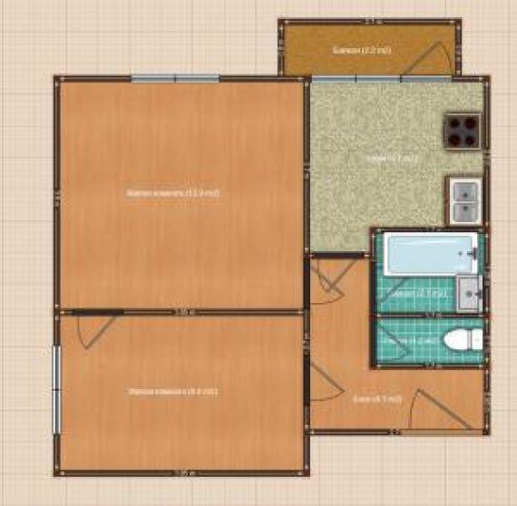 2-к квартира, 39 кв.м., 11/12 эт. в москве по цене 6 200 000.