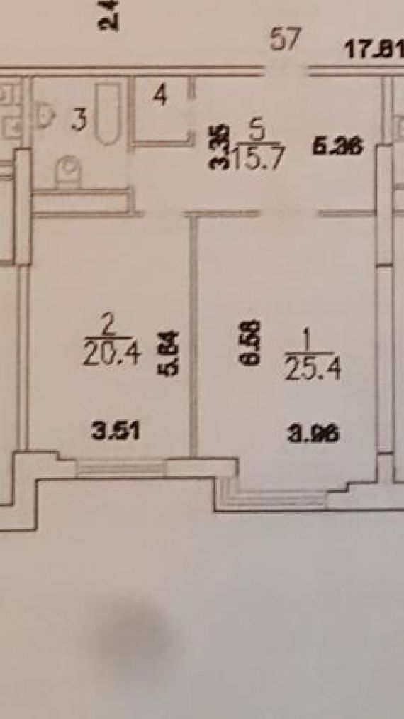 9d2412f2cac97 ... 1-комнатная квартира площадью 69.7 кв.м в ЖК
