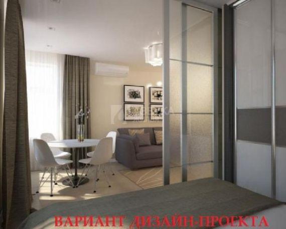 Дизайн интерьера однокомнатной квартиры 42 кв.м