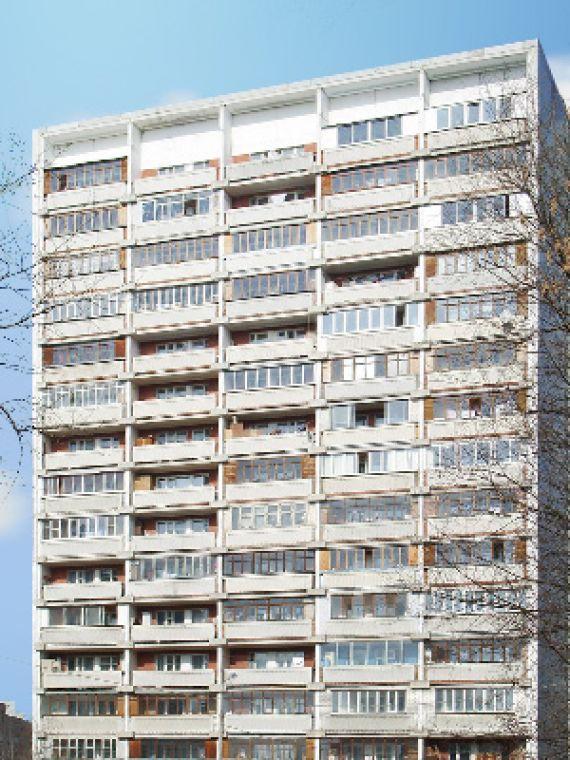 Однокомнатная квартира находится волгоградский просп. , 195к.