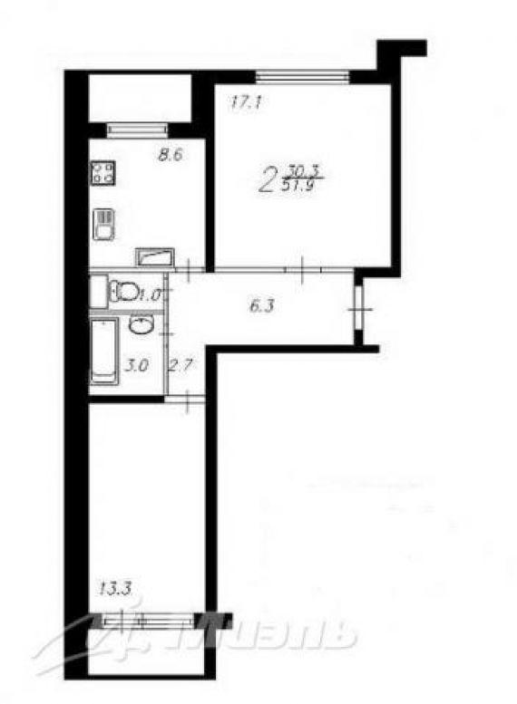 Перепланировка квартир в домах серии п-46м. согласование пер.