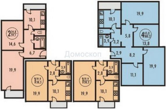 Проект таллиннских 4 комнатных квартир - обычный сайт отечес.