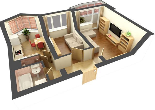 Дизайн интерьера и готовые интерьеры домов и квартир.