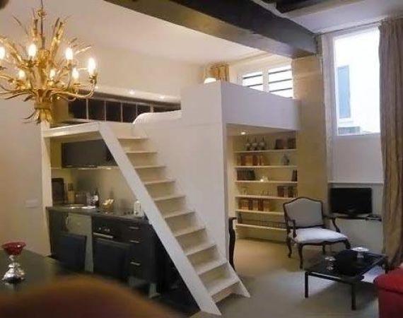 Как сделать 2 этажа в квартире 789