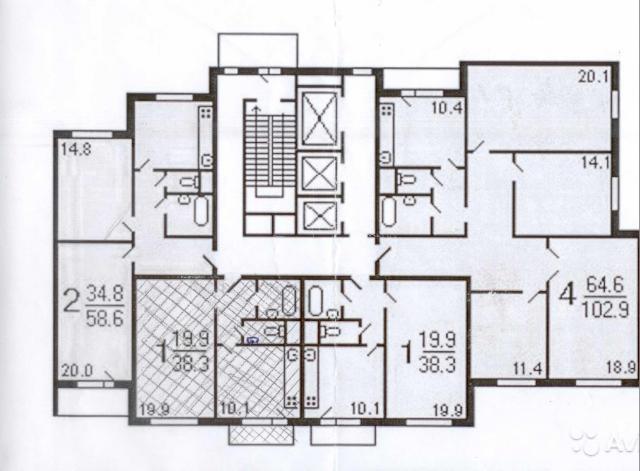1-комнатная квартира находится покровская ул. , 41, метро. р.