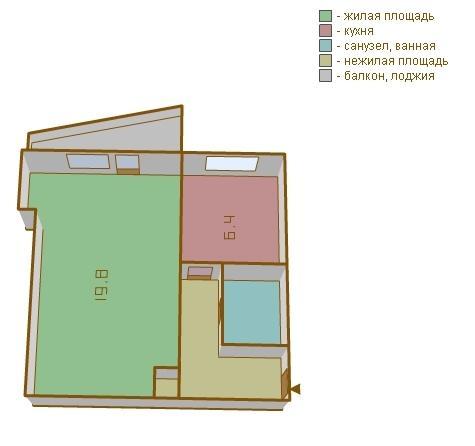 Продается 1-комнатная квартира расположение бестужевых ул. ,.