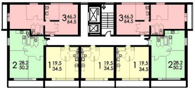 Размер лоджии в домах п68.