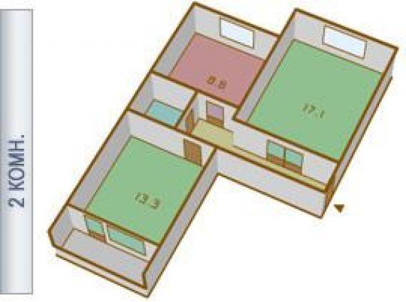 Продается 2-комнатная квартира находится досфлота пр. , 5, м.