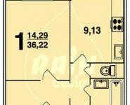Планировка квартир - серия п-3м.