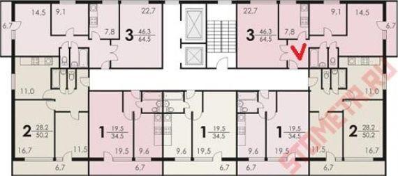 Ii 68 01 планировка квартир авторская база авторских иллюстр.