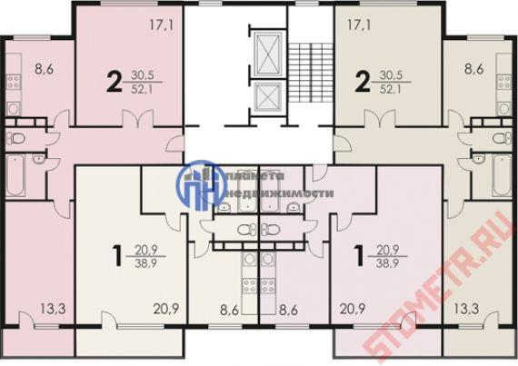 Продается 2-комнатная квартира расположение жулебинский бул..