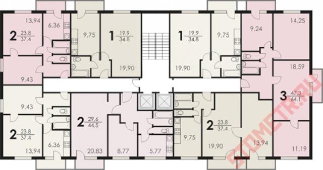 "Дизайн квартиры ii-18\\\\\\/12 i "" улетный дизайн."