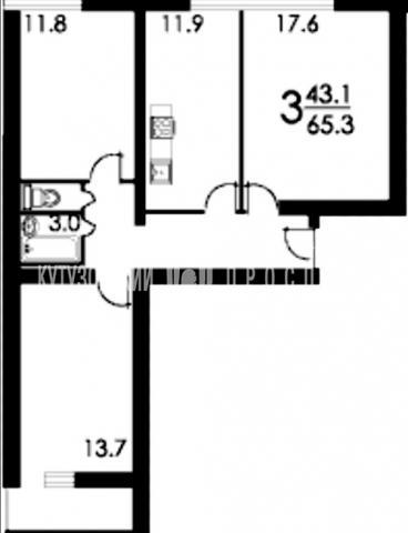 Квартиры п-68 площадь лоджии.