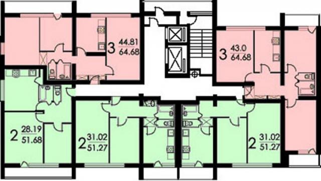 Брежневки: блочные жилые дома серии и-491а.