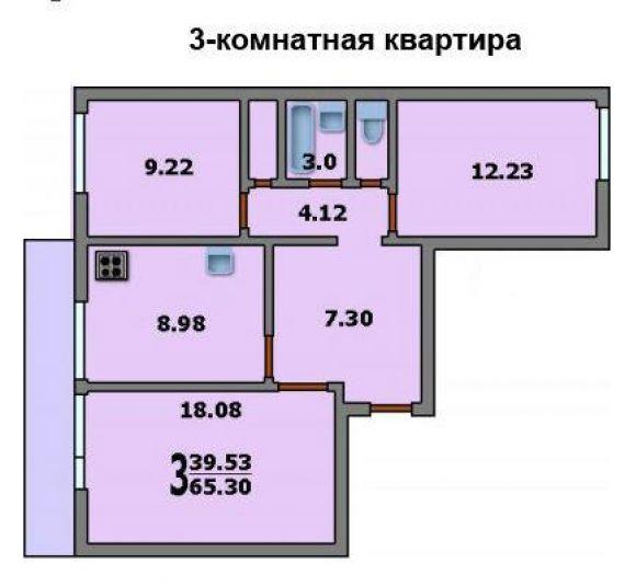 Дом серии и 522а размер лоджи..