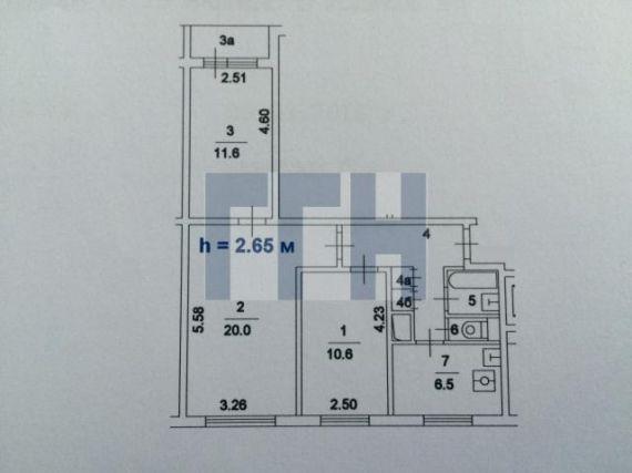 Общая площадь i605-ам